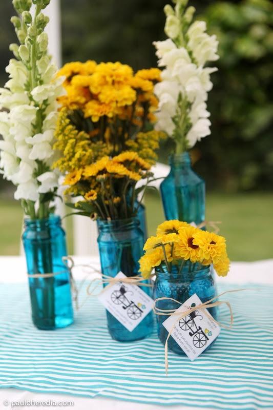decoracao casamento azul turquesa e amarelo : decoracao casamento azul turquesa e amarelo:Decoração para casamento nas paletas de cores azul e amarelo