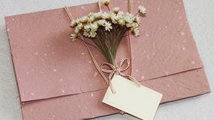 Convite papel reciclado Foto: ocasamenteiro.files.wordpress.com
