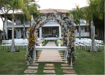 Mini wedding em casa