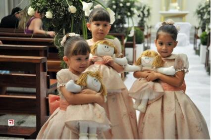 Daminhas com bonecas
