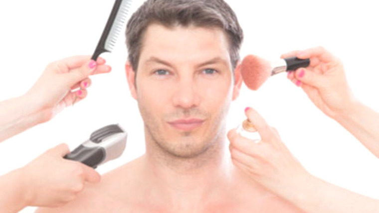 Maquiagem noivo