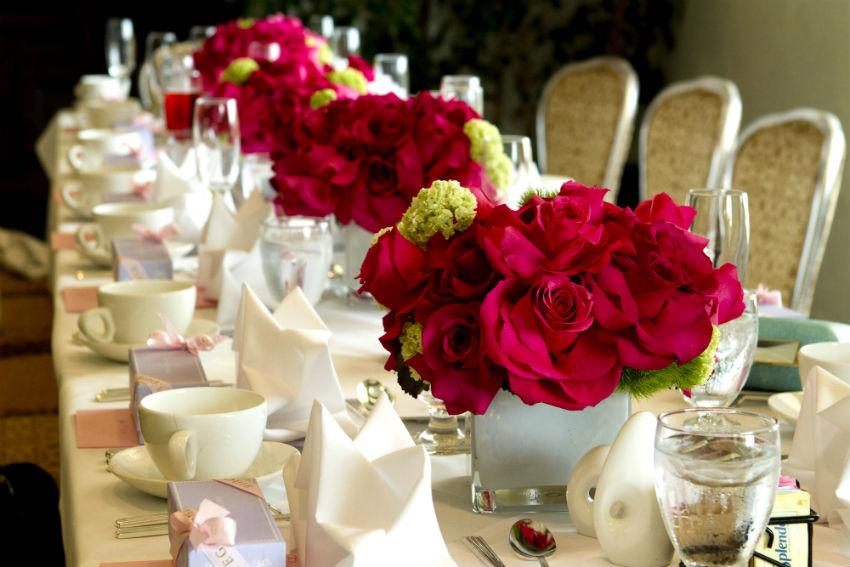 Os 9 Arranjos De Flores Mais Lindos Para Decorar As Mesas Dos Lembrancinhas Casamento