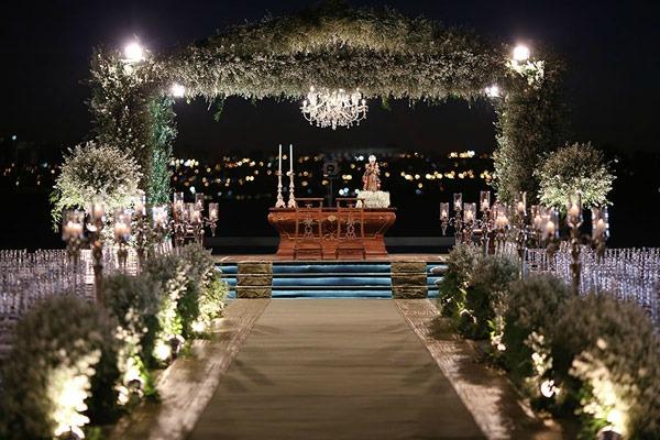cerimônia noite