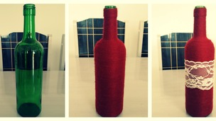 Como customizar garrafa