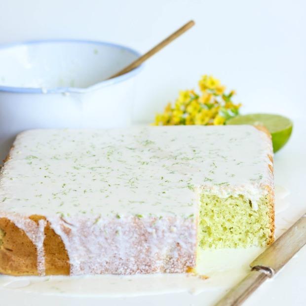 bolo gelado de limao
