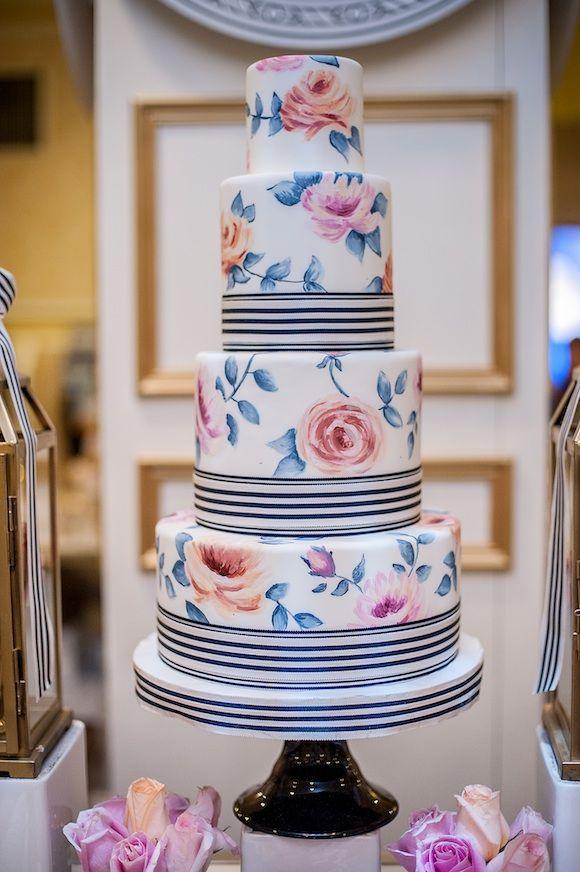 Hand Painted Wedding Cakes Scotland