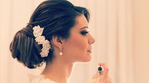 penteado noiva romântica e clássica
