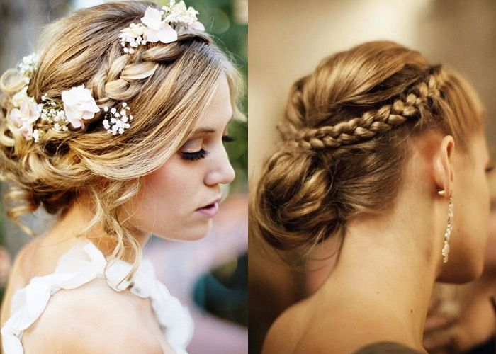 penteado estilo princesa medieval