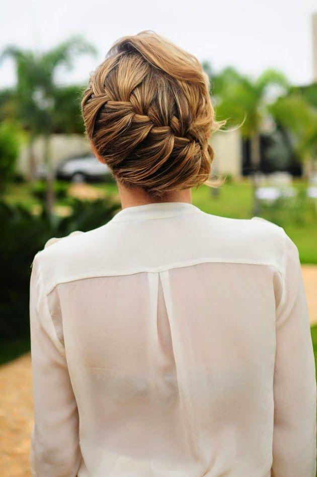 tranças embutidas para noivas