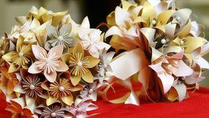 origamis para casamento
