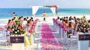 casamento ao ar livre decoração do altar