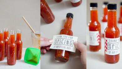Dica DIY: Como fazer molho de pimenta para lembrancinhas