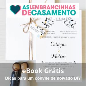 ebook gratis dicas de convite de noivado diy