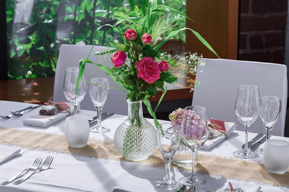 Almoço de casamento civil