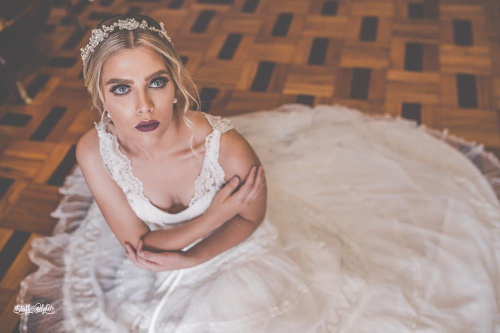 Coroa para noivas