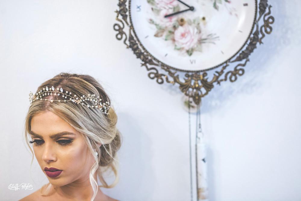 Grinalda de noiva aflorar