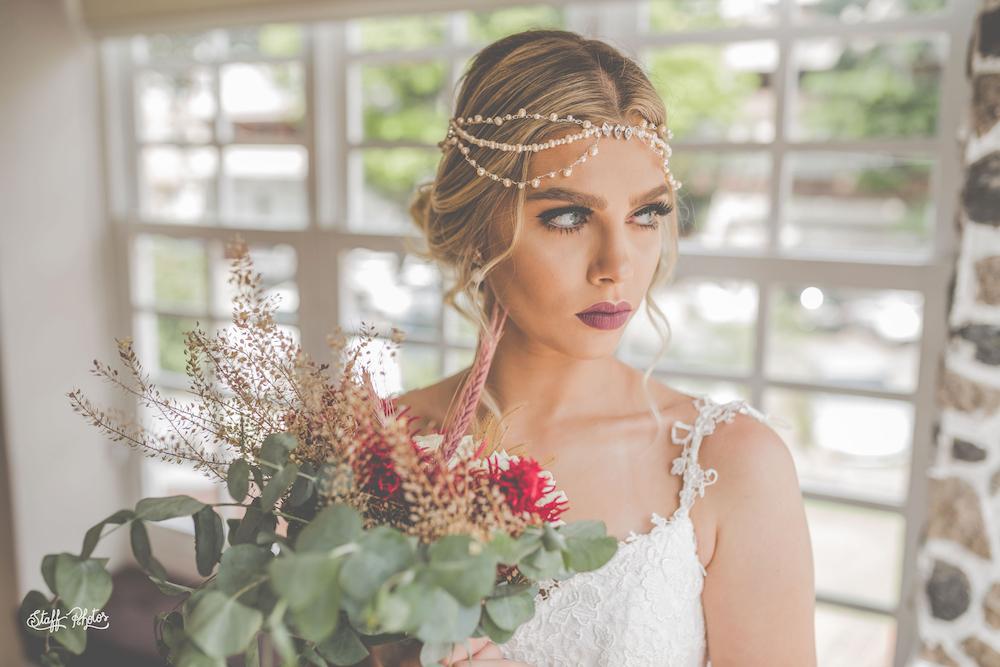 Head chain para noiva