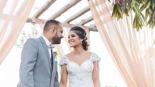 O casamento no campo da Ana Paula e do Felipe