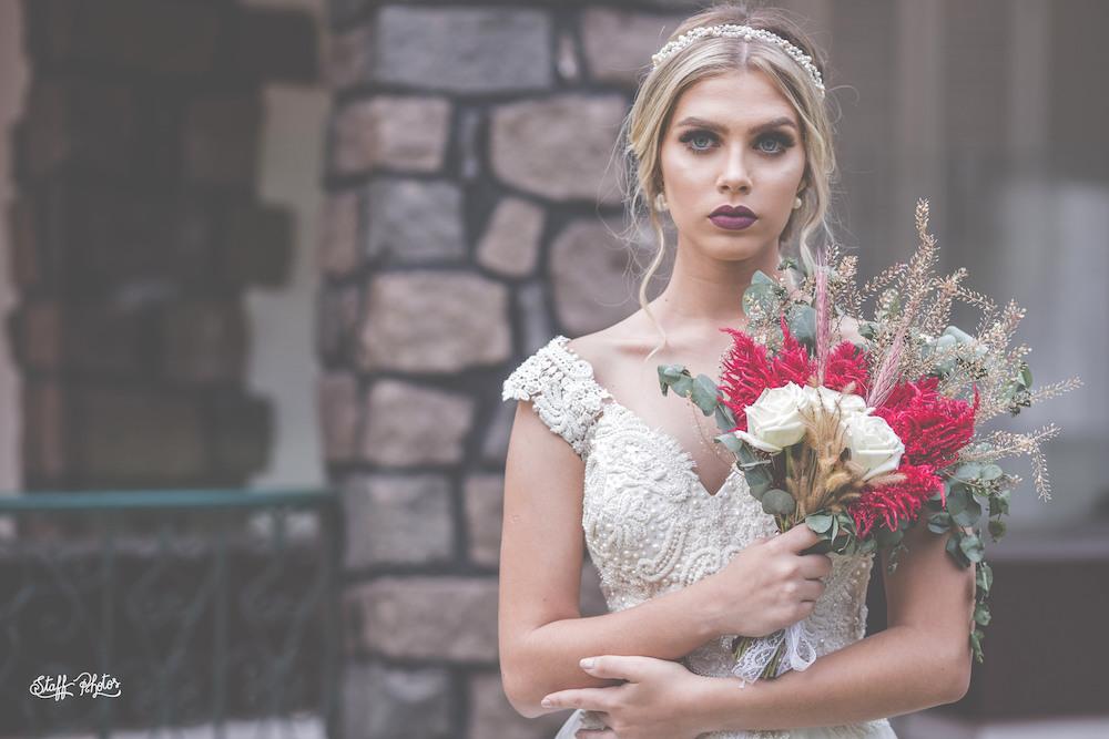 Tiara de noiva celósia