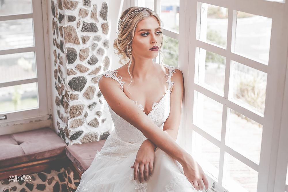 Tiara coleção Jardim Secreto da Aflorar noivas