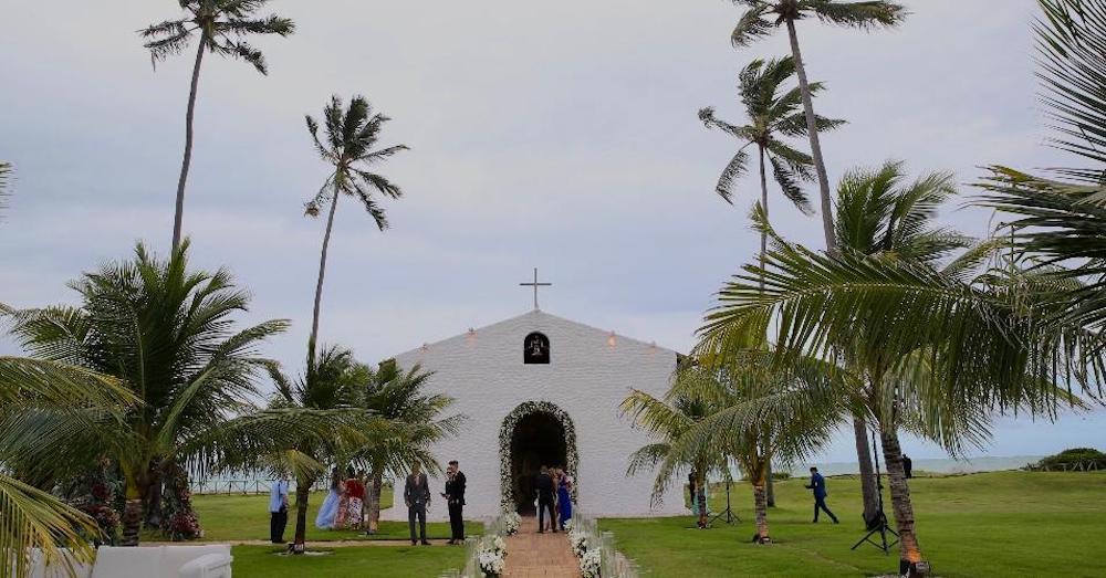 Capela onde aconteceu o casamento de Whindersson e Luisa