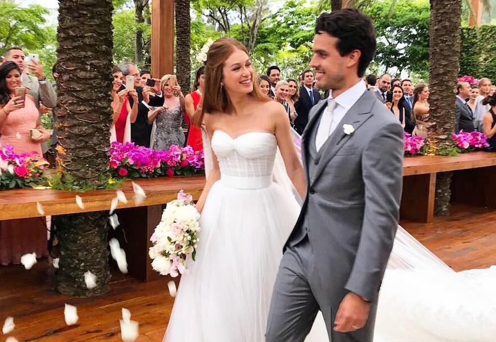 Casamentos 2017: Marina Ruy Barbosa e Negrão