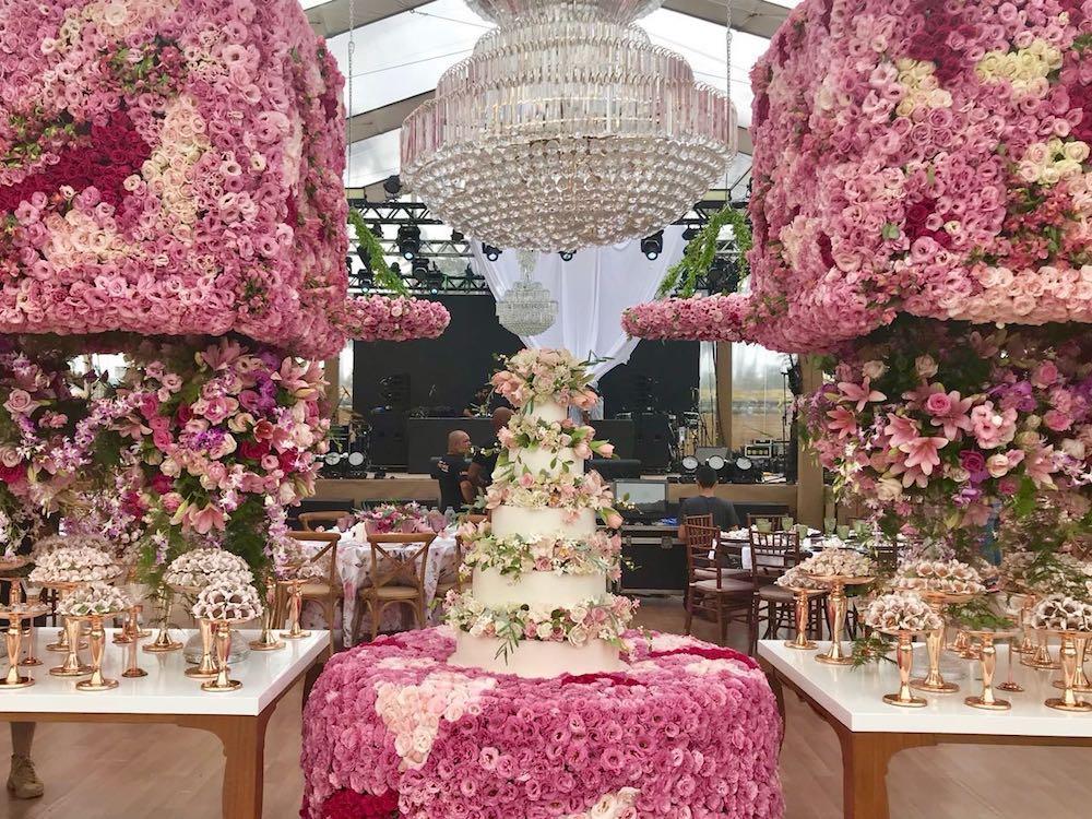 decoração casamento whindersson e luisa