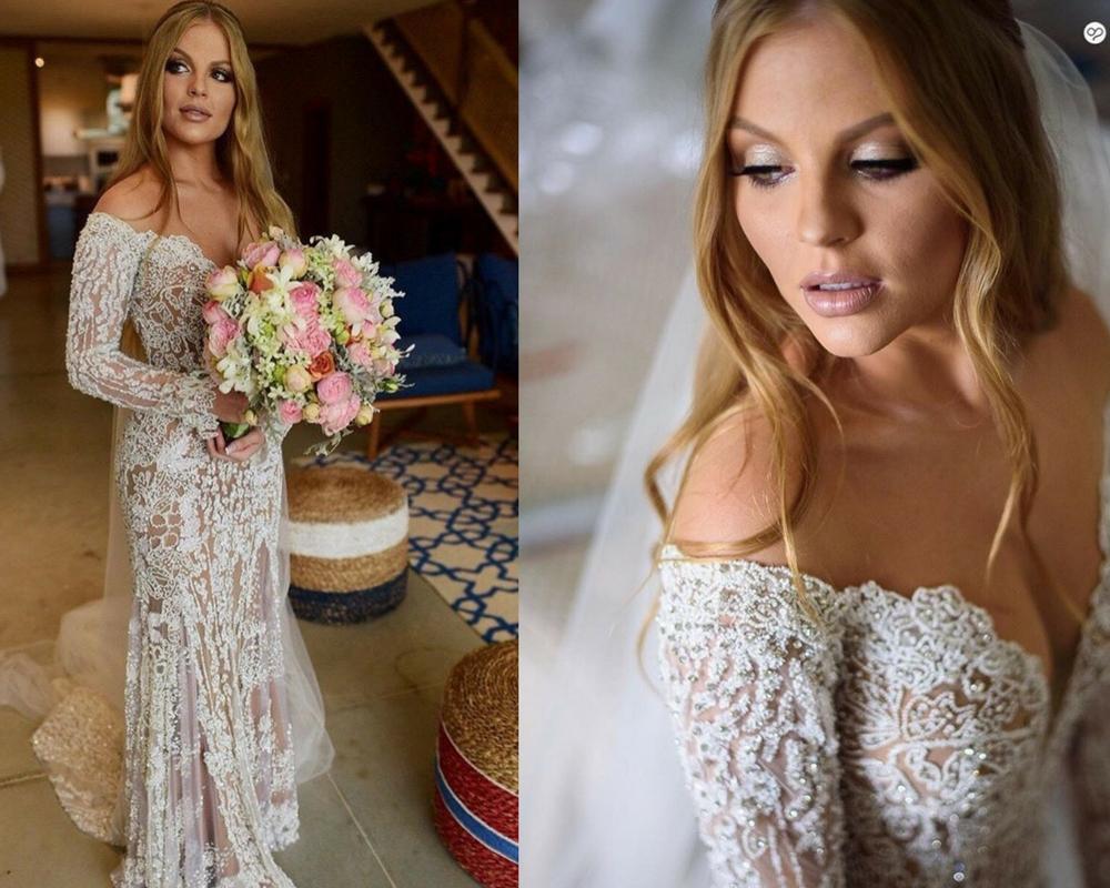 Luisa Sonza vestida de noiva