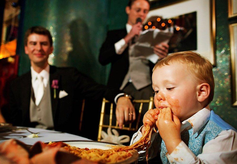 Onde as crianças devem comer?